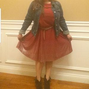 LulaRoe Elegant Carly dress size Large